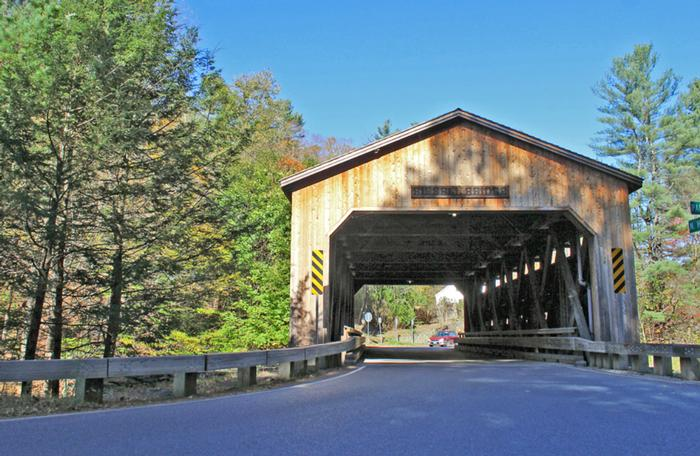 Bissell Bridge Charlemont Ma Greenfield Massachusetts