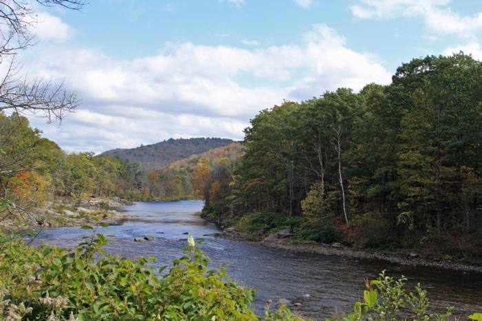 Deerfield River Charlemont Ma Greenfield Massachusetts